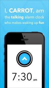 CARROT Alarm - Talking Alarm Clock