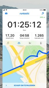 Runtastic Hardlopen en Fitness
