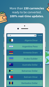 Kurrency, travel with real-time currency converter