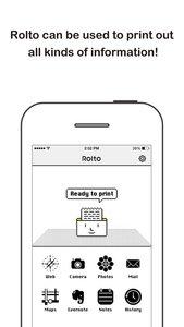 Rolto - Compact Wireless Screen Printer