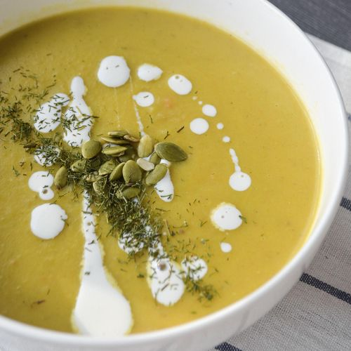 Kreminė daržovių sriuba