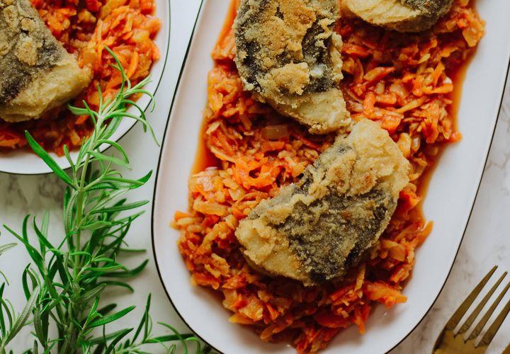 Tradiciškai gaminama graikiška (ne)žuvis