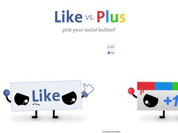 Like vs Plus : votez
