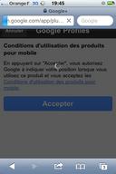 Obligé d'être géolocalisé pour utiliser Google+ sur iphone ?