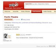Une recommandation un peu particulière - théâtre