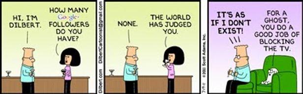 Humour : le snobisme google+
