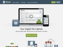 Stockez vos documents personnels avec Doxo