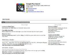 Rechercher dans les posts publics de Google+