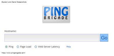 Un nouvel outil de ping: PingBrigade