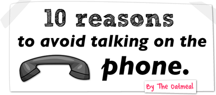 10 raisons de ne pas répondre au téléphone