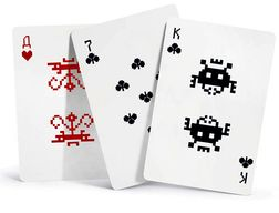 Un jeu de cartes Space-Invaders