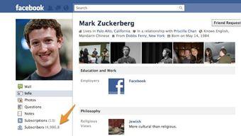 Zuckerberg a converti ses fans en abonnés