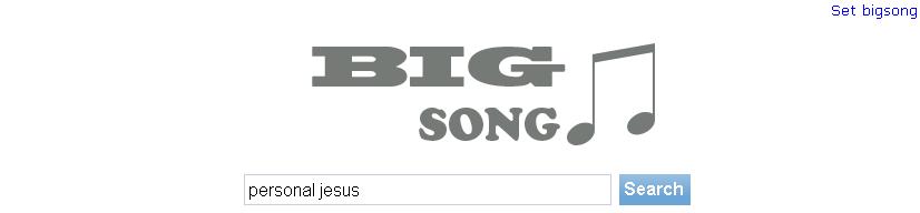 Un moteur de recherche pour vos musiques