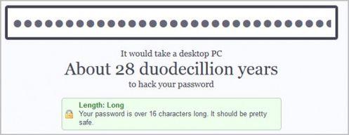 Testez la sécurité de votre password, en ligne