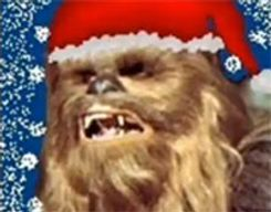 Chewbacca chante noël