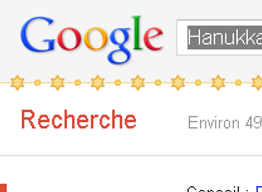 Essayez de taper let it snow sur google