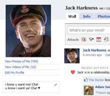 Et si Jack Harkness avait un profil facebook ?