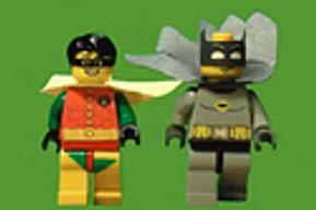 Le générique 60's de batman, en lego stopmotion