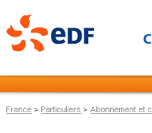 Attention - phishing EDF
