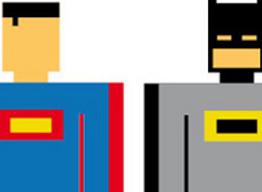 Rene Schiffer - Des super héros carrément pixels
