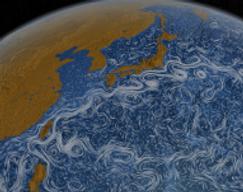 Vidéo - les courants marins vus de l'espace