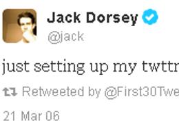 Les 30 tout premiers twitts de twitter