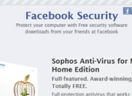 Un antivirus marketplace pour facebook ?