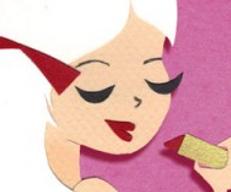 Infographie - l'évolution du maquillage