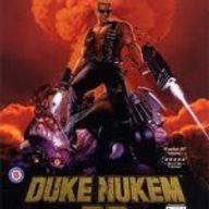 Le thème de duke nukem avec des lecteurs de disquettes