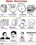 L'horoscope meme