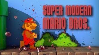Super Modern Mario Bros : Le mario modernisé