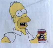 Simpson - finie la Duff sur W9