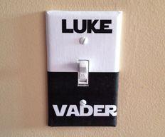 L'interrupteur Star Wars, pour geekiser la maison