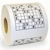 Le papier toilette sudoku