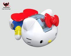 Un Hello Kitty version robot de combat