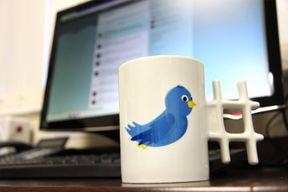 Le mug Twitter, pour les accros du réseau