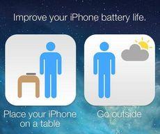 Astuce: prolongez la durée de la batterie de votre iphone