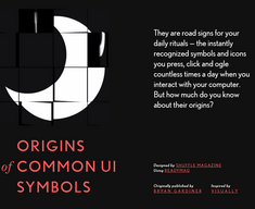 Ui-Symbols - Les origines des symboles des interfaces