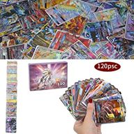 120Pcs Jeu de Cartes Pokemon Cartes, Carte de Pokemon Amusant pour Enfants, Cartes à Collectionner, 109 GX+11 Trainer Cartes