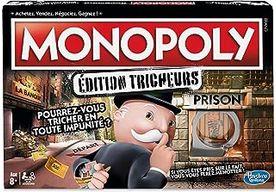 Monopoly Tricheurs - Jeu de societe - Jeu de plateau - Version française