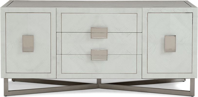 HOOKER FURNITURE Marie Floating Entertainment Console
