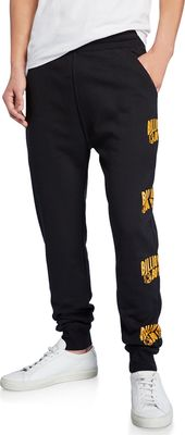 BILLIONAIRE BOYS CLUB Logo Typographic Sweatpants