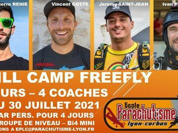 Tickets for the full event only: Skill camp freefly
