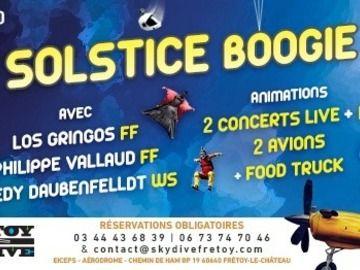Evènement gratuit: SOLSTICE BOOGIE 2021