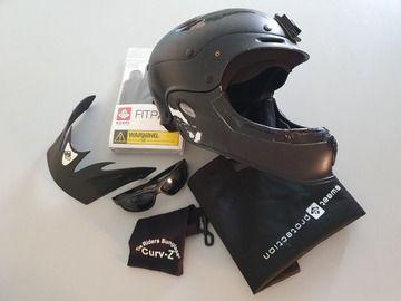 Sell: Casque intégrale Sweet Rocker kayak (wingsuit) + lunettes chute