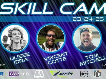 Tickets for the full event only: Natural Fly July skill camp