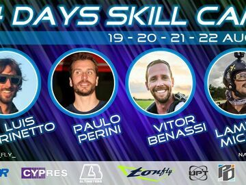 Tickets for the full event only: Natural Fly skill camp plus (four days)
