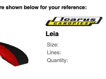 Sell: Icarus Leia
