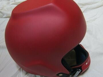 Sell: casque rouge neuf