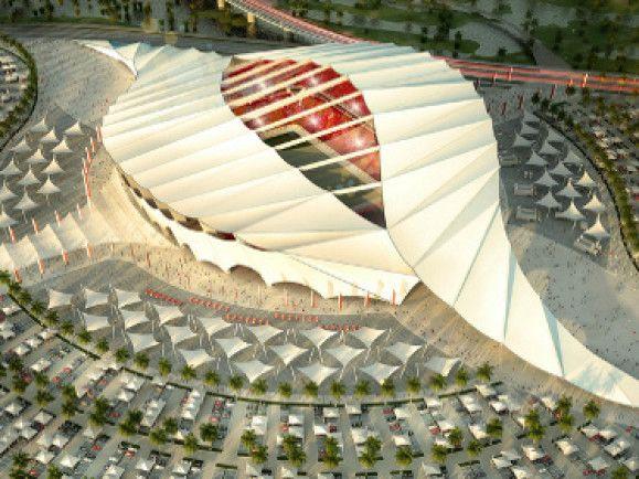 Romantisch und anmutend. So könnte eines der Stadien aussehen, in denen 2022 die WM stattfindet. Link zu flickr.com
